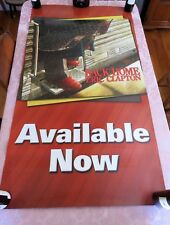 ERIC CLAPTON ~ BACK HOME / 2005 2-SIDED PROMO WINDOW DISPLAY POSTER HEAVY STOCK
