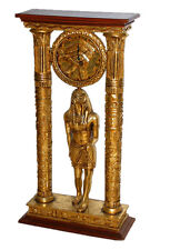 "Large 38"" Egyptian Falcon God Horus Clock"