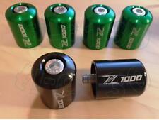 Z1000 und Z1000SX Lenkerenden **Schwarz**  Neu mit Z1000 Beschriftung