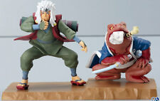 Bandai Naruto Summoning Jutsu Figure Collection Jiraiya & Gamabunta