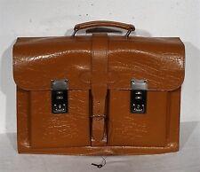 shabby chic - Ältere gr. Koffer Ledertasche Koffertasche echt Leder Tasche ~50er