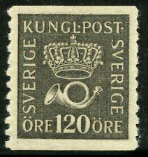 Sweden 1925 120 ore Crown & Posthorn Facit 171a Mnh (*) 0A