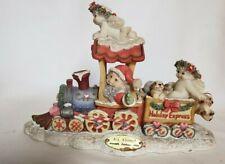 Vintage Dreamsicles All Aboard Ltd Ed. #10364 Signed Christmas Santa Train