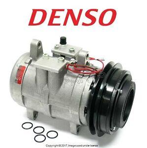 For Porsche 928 80-89 Rebuilt Air Condition A/C Compressor w/ Clutch OEM DENSO