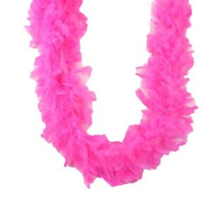 Candy Pink 45 gm 72 in 6 Ft Chandelle Feather Boa