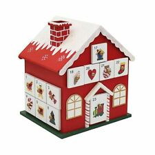 Advent Calendar Christmas House with 24 Drawers
