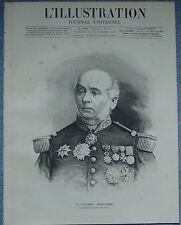 L'ILLUSTRATION 2331 DU 29/10/1887 COURONNES FUNEBRES ABAZIA BOURSE PARIS LIBERTE