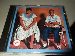 ELLA FITZGERALD&LOUIS ARMSTRONG : ELLA&LOUIS FIRST PRESS CD VERVE POLYGRAM WEST