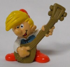 VINTAGE! 1978 Schleich Smurfs PVC Figure 20499-Pewit