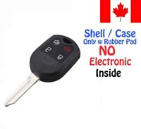 1x New Replacement Keyless Remote Key Fob Case For Ford Mazda Lincoln - Shell