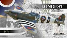 Eduard Ltd Ed 1:72 Spitfire Mk.IXc/IXe Longest Day Combo Two Aircraft Model Kit