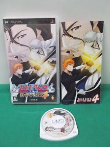 PlayStation Portable -- BLEACH: HEAT THE SOUL 4 -- PSP. JAPAN GAME. 48807