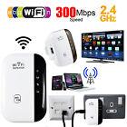 EU Plug WiFi Blast Wireless Repeater Wi-Fi Range Extender 300Mbps Wifi Amplifier