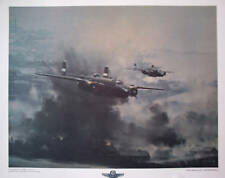 B-25 Mitchell Bombers  Airplane Print by RG Smith