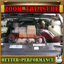 RED CHF 1992-1995/92 93 94 95 BUICK LESABRE LE SABRE 3.8 3.8L V6 AIR INTAKE
