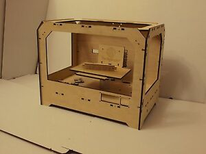 3D Printer Reprap Makerbot Replicator clone Frame Laser Cut PlyWood