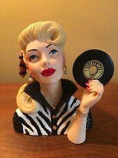 Cameo Girls Head Vase Abigail 1954