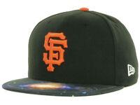 San Francisco Giants Men's New Era 59FIFTY MLB Baseball Galaxy Fitted Hat Cap