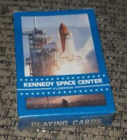 1980's Kennedy Space Center Florida Playing Cards ORIGINAL Box Space Shuttle OLD