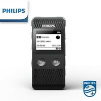 Philips VTR6080 Translator 8GB Voice recorder with music playback Dictaphone
