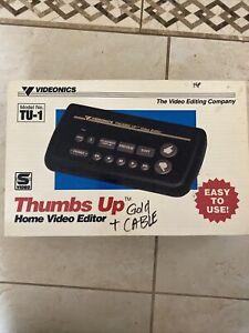 videonics model no. TU-1 thumbs up home video editor