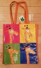 Toys R Us New w/tag Reusable Tote Shopping Bag made of 100% recycled materials