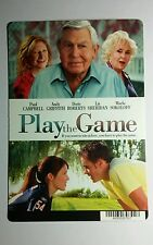 PLAY THE GAME GRIFFITH CAMPBELL COVER ART MINI POSTER BACKER CARD (NOT a movie )