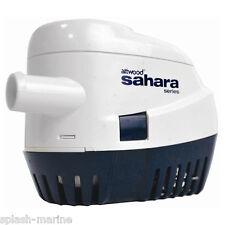 ATTWOOD Sahara S500 12 VOLTS AUTO BATEAU POMPE assèchement 500GPH - Haut de