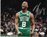 Kemba Walker Boston Celtics Autographed hand Signed 8x10 photo Coa-JSA