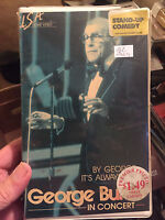 Vintage 1982 George Burns Live in Concert VHS Video - U.S.A. Home Video - RARE