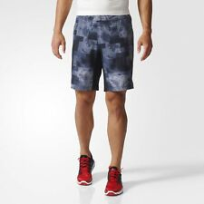Adidas Performance Men A2G Chalk Graphic Shorts Multicolor Running Gym Medium