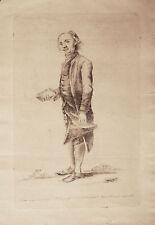 AVVOCATO - Incisione Originale 1700 - Carlo Lavinio - Cicerone