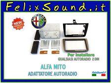 ADATTATORE AUTORADIO 2 DIN ALFA MITO '08 >  MONTA SENZA CORNICE NUOVO CONCEPT