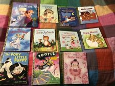 11 Golden Book Lot - Used.