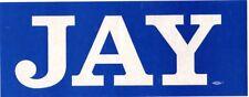 Jay Rockefeller West Virginia Governor Bumper Sticker