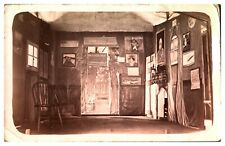 Antique RPPC postcard The Fleas Retreat Jeremiah H Hardup pub wine