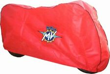 Fundas y cubiertas de color principal rojo para motos