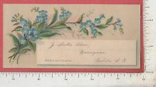A733 J. Austin Shaw Nurseries G. W. Hickok trade card Rochester, NY H. E. Hooker