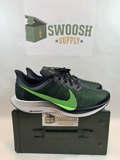 bfb6241d9b63 Nike Zoom Pegasus 35 Turbo AJ4114-004 Men 9.5 Running Shoes Black Lime Blast