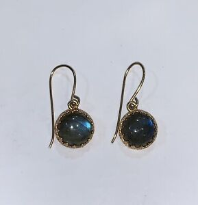 Labradorite Earrings 14K Gold Filled