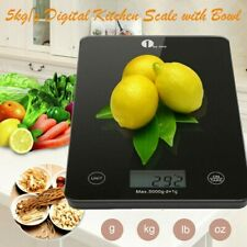 1byone Digital Kitchen LCD Scales 11Ibs 5000g/1g Food Weighing Weight Scale US