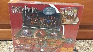 """HARRY POTTER"" 2-SIDED SHAPED JIGSAW PUZZLE   BRAND NEW SEALED BOX"