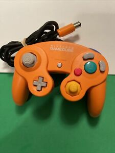 Nintendo Gamecube Controller - Spice Orange OEM   AUTHENTIC   TESTED