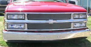 For 94-99 Chevrolet C2500 K3500 C3500 K1500 T-rex Billet Series Grille Insert
