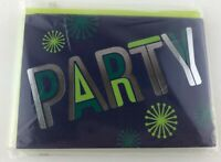 Hallmark Any Occasion Party Invitations 10 Cards Total Blue Green