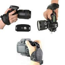 Hand Strap Leather Wrist DSLR Camera for Canon Nikon Pentax Grip Universal Sony