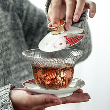 glass cup bowl set porcelain gaiwan tureen Borosilicate tea Espresso cup saucer