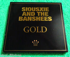 PHILIPPINES:SIOUXSIE & THE BANSHEES - GOLD CD,2 Set Disc in GOLD,RARE!!!