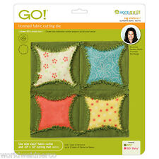 """AccuQuilt GO! Fabric Cutter Cutting Die Rag Circle-6 1/2"""" by Heather Banks 55170"""