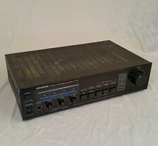 Kenwood KA-54 Stereo Integrated Amplifier Black (50 Watts Per Channel) Serviced